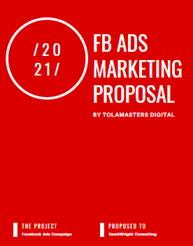 Facebook Ads Agency Proposal