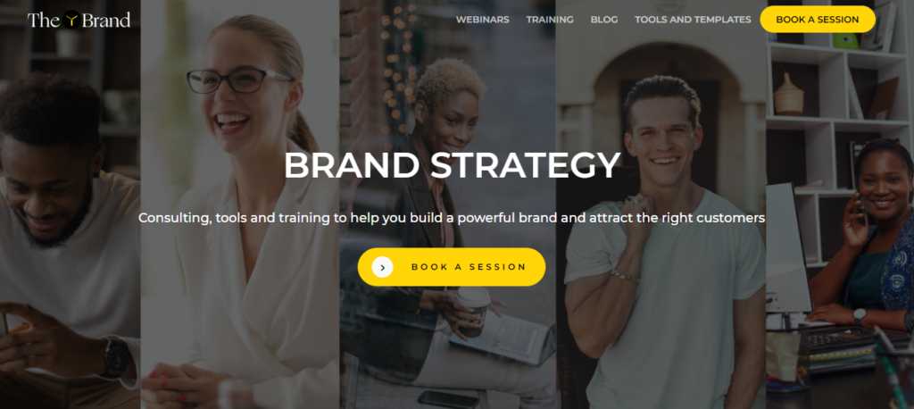 The Y Brand Homepage