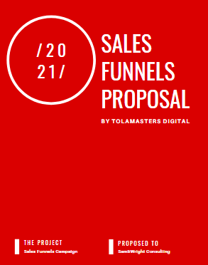 Sales Funnel Experts Proposal